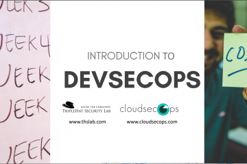devsecops introduction by cloudsecops
